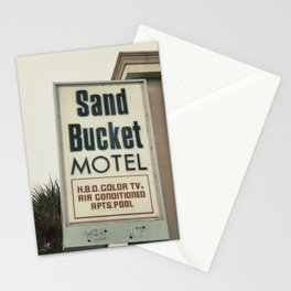 Sand Bucket Stationery Cards