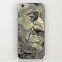 bruce springsteen iPhone & iPod Skins featuring Springsteen by Alan Carlstrom