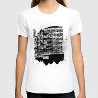 hong kong T-shirts featuring Hong Kong Flats by Miguel Villasanta