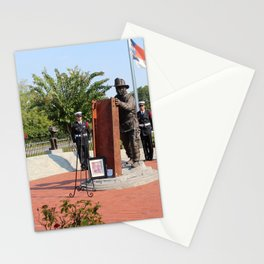 Wreath Ceremony Stationery Cards