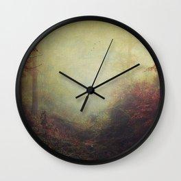 Fall Impressions Wall Clock