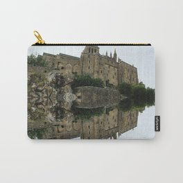 Mirrored landscape 2 Mont-Saint-Michel Carry-All Pouch