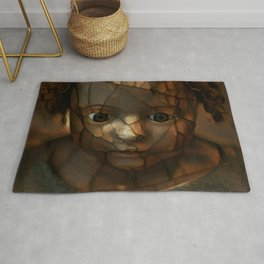 Old Doll Face Rug