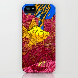 Underwater world iPhone Case
