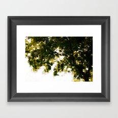 Blurriness Framed Art Print