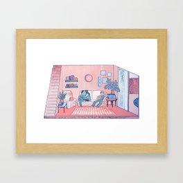 The Lounge Framed Art Print