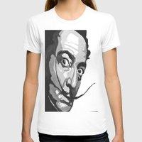 salvador dali T-shirts featuring Salvador Dali by Frankie Luna III