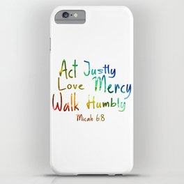 bible art iPhone Case