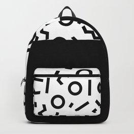 Memphis pattern 42 Backpack