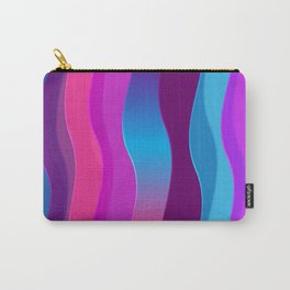 Silky Waves Carry-All Pouch