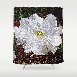 Enchanted Flower Shower Curtain