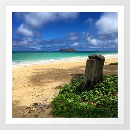 Hawaii Summer Days Art Print