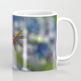 The March hare and the dragonfly in the abyss Coffee Mug