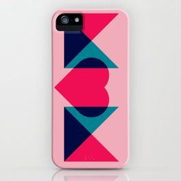 HEART MOM iPhone Case