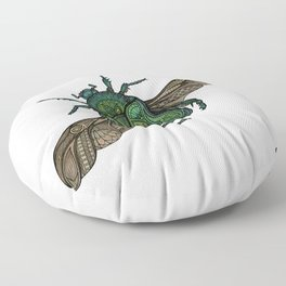 Egyptian Scarab Floor Pillow