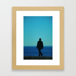 Mysterious Man Framed Art Print