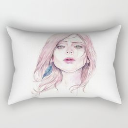 You're Pretty When You Cry Rectangular Pillow