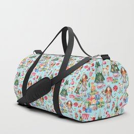 Blue Christmas - From Girls And Gifts Duffle Bag