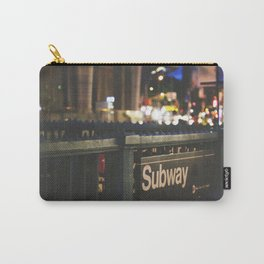 NY Subway Carry-All Pouch