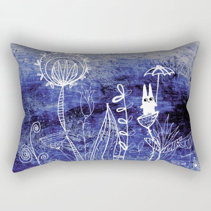 big adventure at night Rectangular Pillow