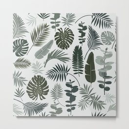 Botanical leaves Metal Print
