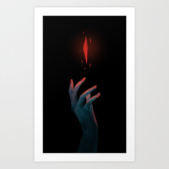 Shard of the Abyss Art Print