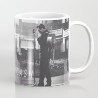 johnny cash Mugs featuring Johnny Cash by Earl of Grey