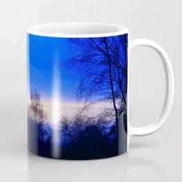Cold Winter Sunset Coffee Mug