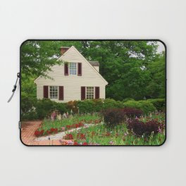 Cottage Garden - Colonial Williamsburg Laptop Sleeve