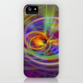 Salve twirls iPhone Case