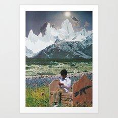 collage 8 Art Print