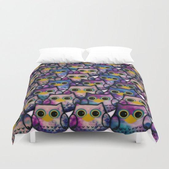 owl-483 Duvet Cover