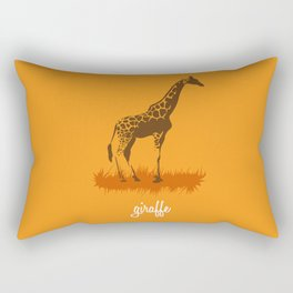 4-legged Exotica Series: Giraffe Rectangular Pillow