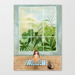 Inhale, exhale Canvas Print
