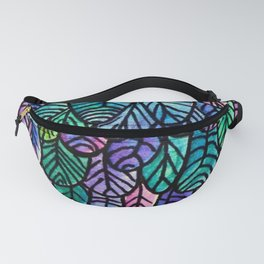 Feathers Pattern Fanny Pack