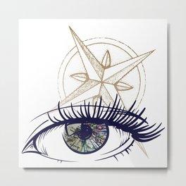 Eyes on the Horizon Metal Print