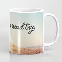 Let's Go on a Road Trip Coffee Mug