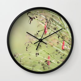 Desert Green Wall Clock