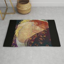 "Gustav Klimt, "" Danae "" Rug"