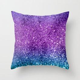 Unicorn Girls Glitter #10 #shiny #decor #art #society6 Throw Pillow