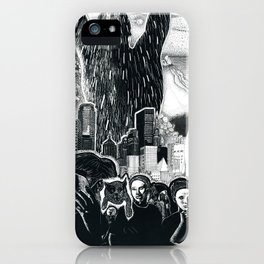 Humanity Rising iPhone Case