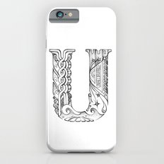 U letter Slim Case iPhone 6s