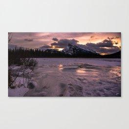 Vermillion Freeze Two Canvas Print
