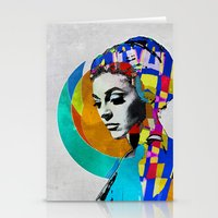 pop art Stationery Cards featuring Pop by Steve W Schwartz Art