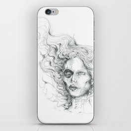 Wisp Skull iPhone Skin