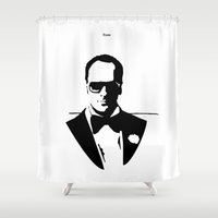 ford Shower Curtains featuring Tom Ford by Joannes