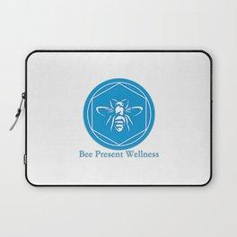 Bee Present Wellness Logo Laptop Sleeve