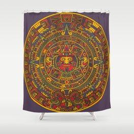Aztec sun Shower Curtain