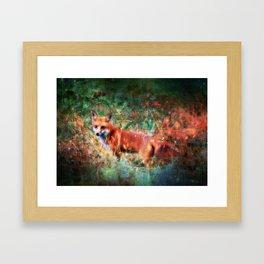 Vulpecula, Star Fox Framed Art Print