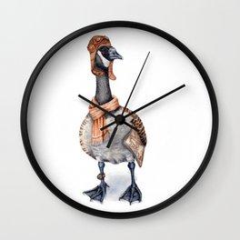 Aviator Canada Goose Wall Clock